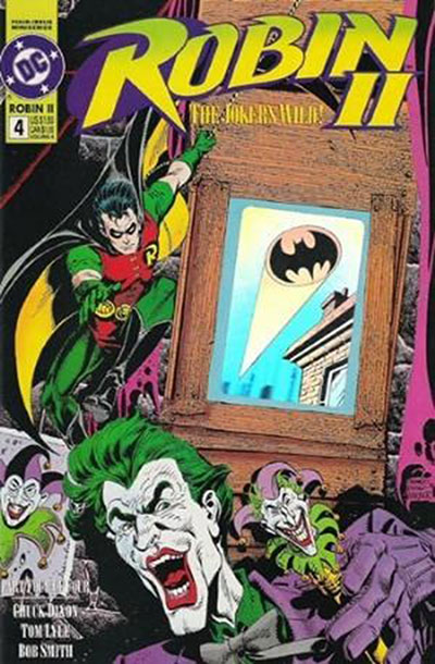 Robin II: The Joker's Wild #4 (Robin vs Joker Variant)