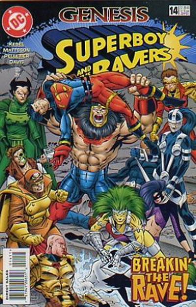 Superboy and the Ravers #14