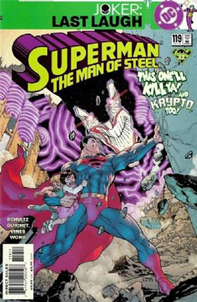Superman: The Man of Steel #119