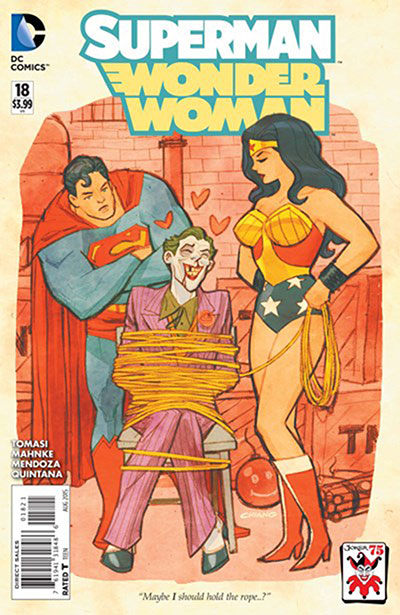 Superman / Wonder Woman #18 (Joker Variant)