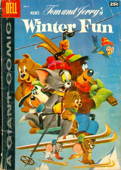 Tom and Jerry's Winter Fun #6