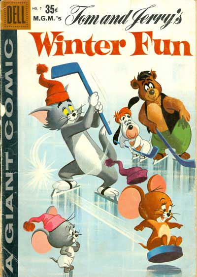 Tom and Jerry's Winter Fun #7