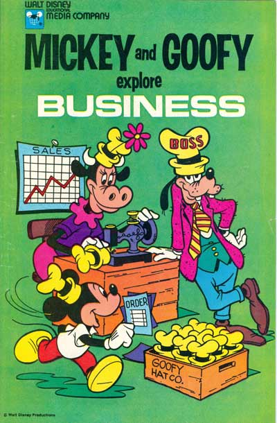 Mickey and Goofy Explore Business