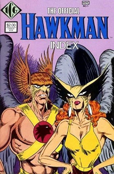 Official Hawkman Index, T (1986)