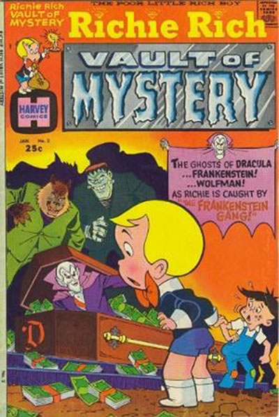 Richie Rich Vault of Mystery #2