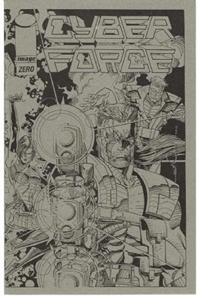 Cyber Force #0 (Ashcan Variant)