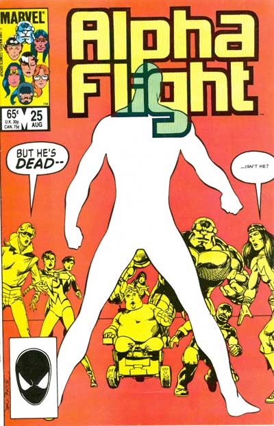 Alpha Flight #25