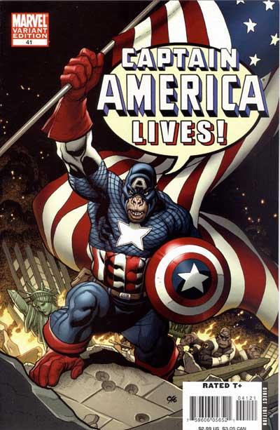 Captain America #41 (1in10 Incentive Cover)