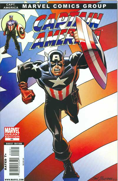 Captain America #44 (Buscema Cover)