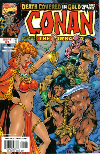 Conan: Death Covered in Gold #1