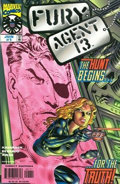 Fury / Agent 13 (Complete Series #1-2)