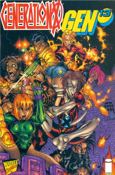 Generation X / Gen 13 (Variant Cover)