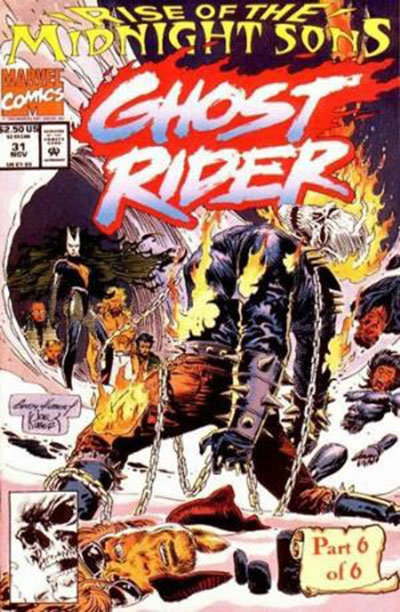 Ghost Rider #31 (Un-Poly Bagged)