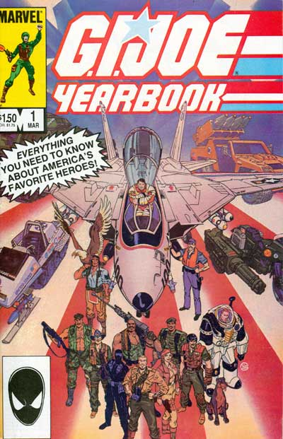 G.I. Joe, Yearbook #1