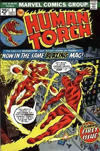 Human Torch, The (1974-75)