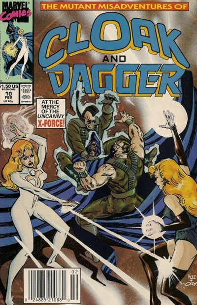 Mutant Misadventures of Cloak and Dagger, The #10