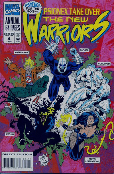 New Warriors, The #4 (Annual)