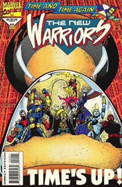 New Warriors #50 (Glow-in-the-Dark Variant)