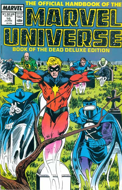 Official Handbook of the Marvel Universe, The #16