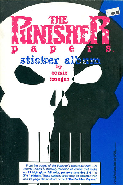 Punisher Papers, Sticker (1990)
