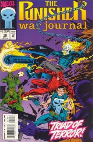 Punisher War Journal, The #58