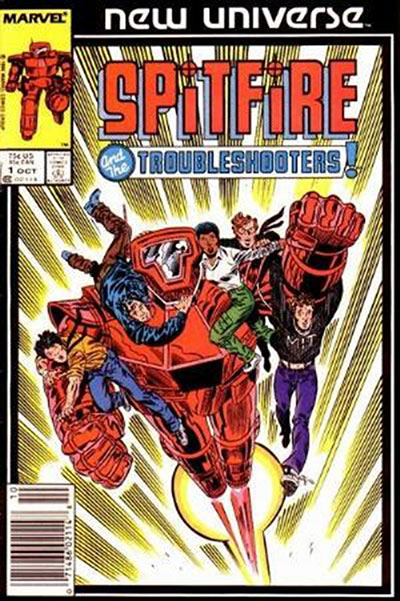 Spitfire and the Troub (1986-87)