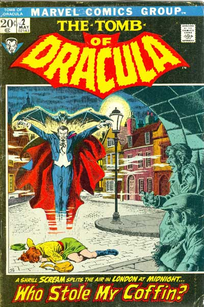 Tomb of Dracula, The #2
