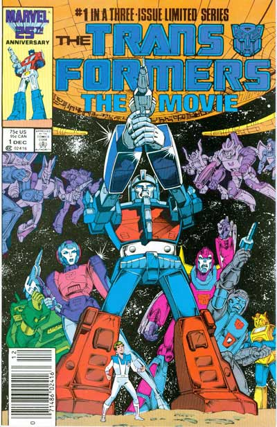 Transformers: The Movie (Complete Series #1-3)