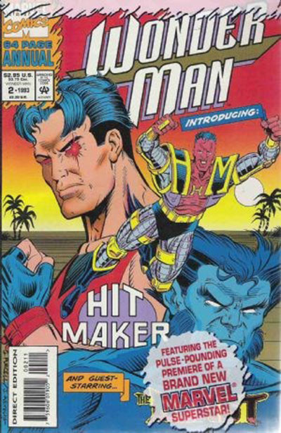Wonder Man #2 (Annual, Poly Bagged)