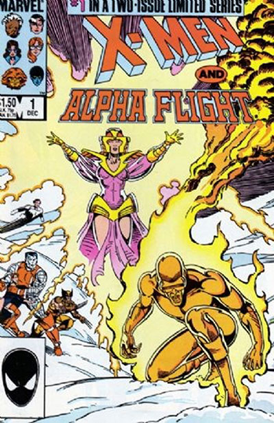 X-Men and Alpha Flight #1