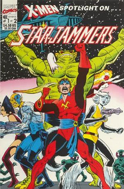 X-Men Spotlight On... Starjammers #1