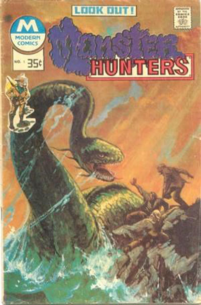 Monster Hunters #1