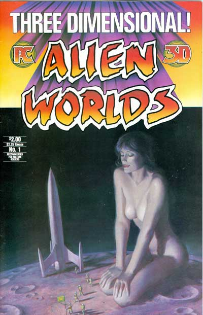 Alien Worlds 3D #1 (With 3D Glasses)