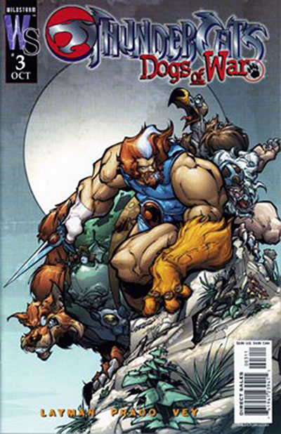 Thundercats: Dogs of War #3 (Variant)