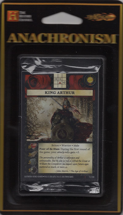 Anachronism King Arthur, Booster Pack