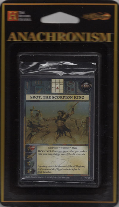 Anachronism SRQT, The Scorpion King, Bosoter Pack