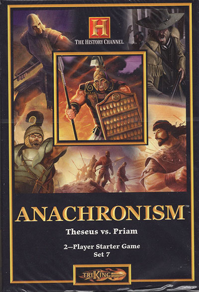 Anachronism Theseus vs. Priam, Starter Deck