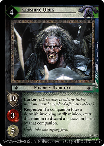 Crushing Uruk