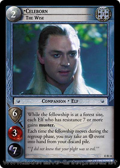 Celeborn, The Wise