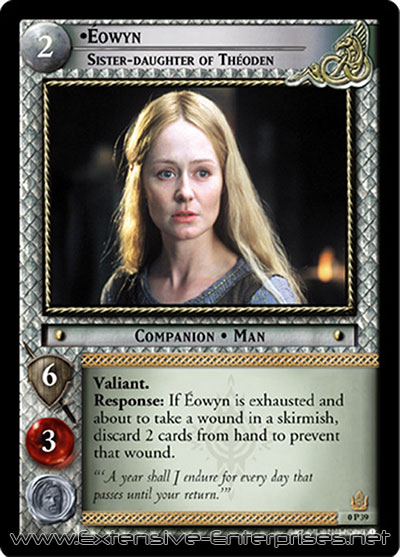 Éowyn, Sister-Daughter of Théoden