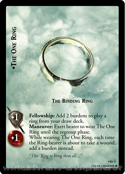 One Ring, The Binding Ring