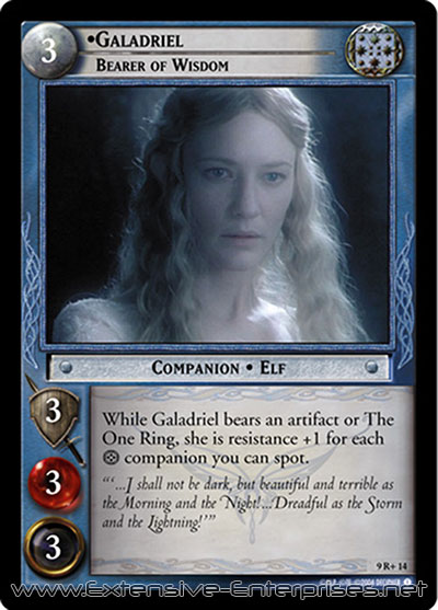 Galadriel, Bearer of Wisdom