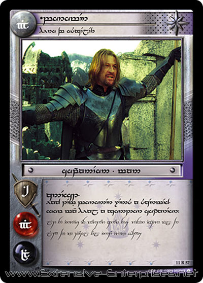 Boromir, Hero of Osgiliath
