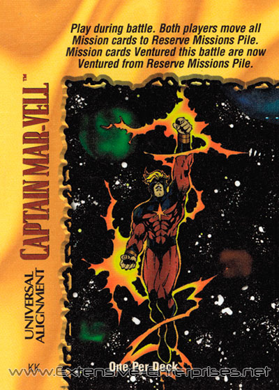 Captain Mar-Vell, Universal Alignment