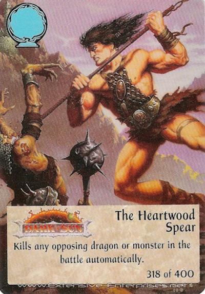 Heartwood Spear, The