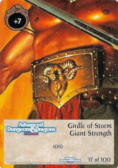 Girdle of Storm Giant Strength