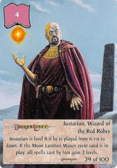 Justarian, Wizard of the Red Robes