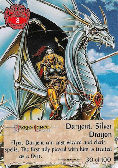 Dargent, Silver Dragon