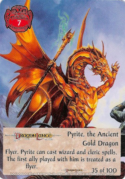 Pyrite, the Ancient Gold Dragon