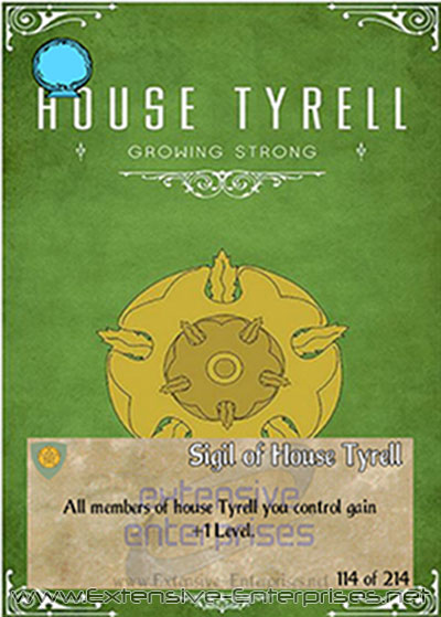 Sigil of House Tyrell